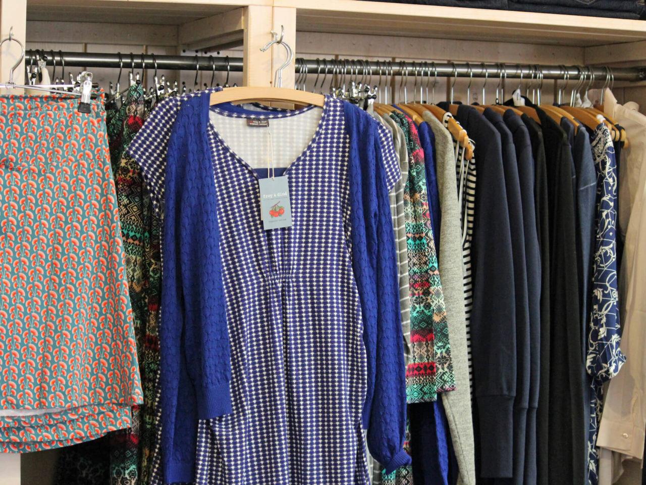 Kleider, Jacken und Oberteile von mama licious, Bellybutton und froy & dind aus Belgien in Bioqualität im Elli und Mai Kindermode